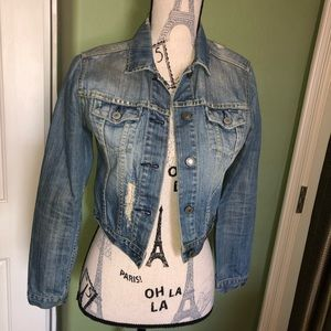 American Eagle Outfitters Jackets & Coats - Cropped American Eagle jean jacket